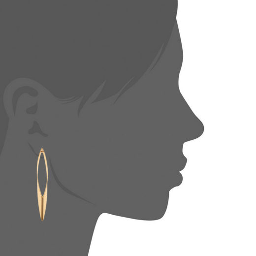 Boucles d'oreilles Plaqué Or Taje 2