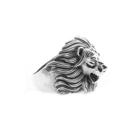 Bague Argent 925 Lion 2