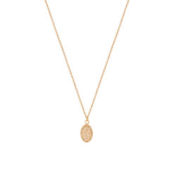 Collier Plaqué Or Marie 3