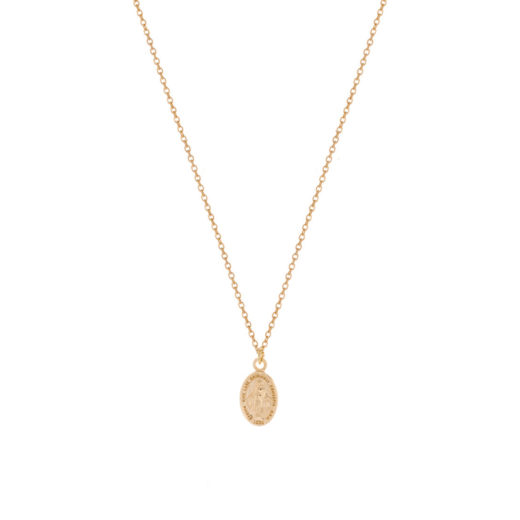 Collier Plaqué Or Marie 2