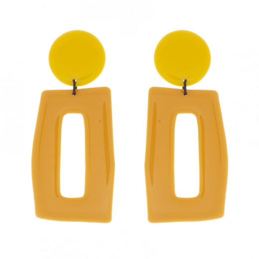 Boucles d'oreilles Thierry Joo Rectangles L 1