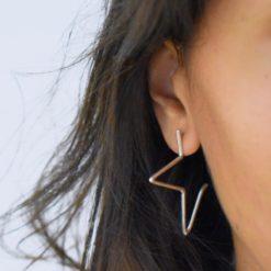 Boucles d'oreilles Argent 925 Starz 3