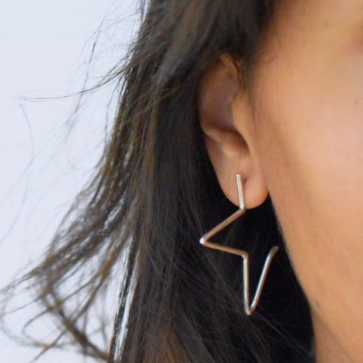 Boucles d'oreilles Argent 925 Starz 2