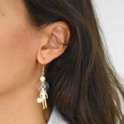 Boucles d'oreilles aHandfulof Perla 3