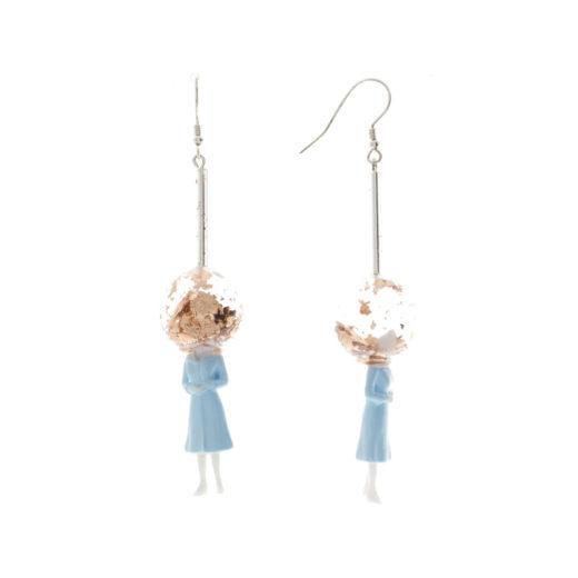 Boucles d'oreilles aHandfulof Glitter Daisy 1