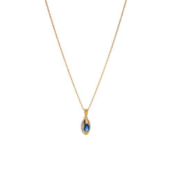 Collier Plaqué Or Saphy 3