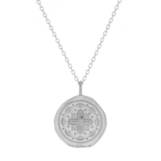 Collier Argent 925 Médaille + 1