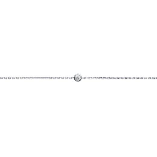 Bracelet Argent 925 Di (Solitaire) 1