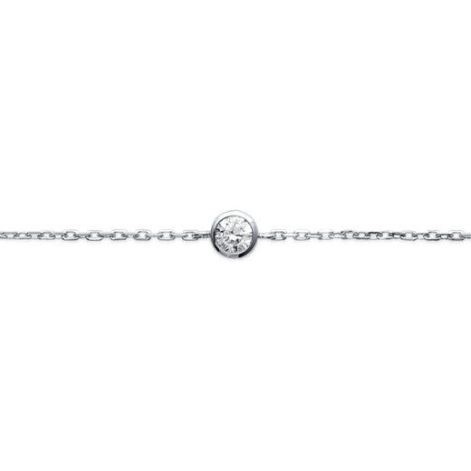 Bracelet Argent 925 Di (Solitaire) 2