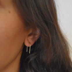 Boucles d'oreilles Plaqué Or U 3