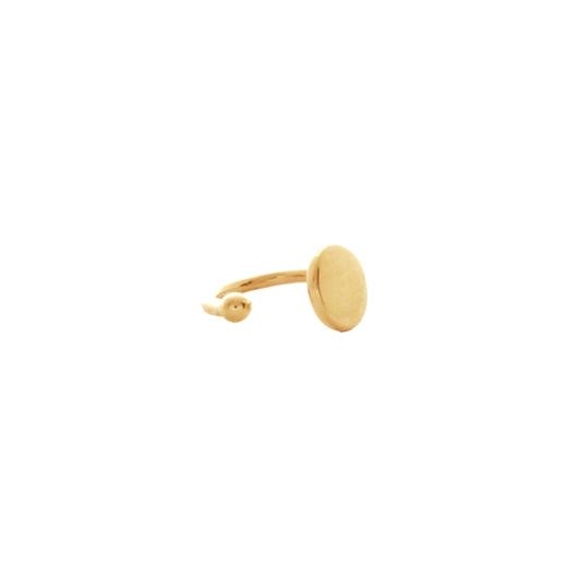 Bague d'oreille Plaqué Or Cee Plaque 2