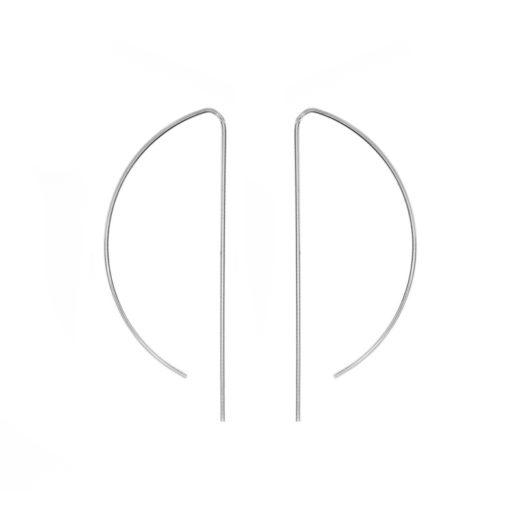 Boucles d'oreilles Argent 925 Arc 1