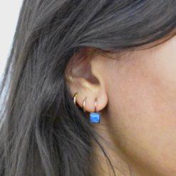 Boucles d'oreilles Tam Tam dans la Ville Cuivré S Multi 17