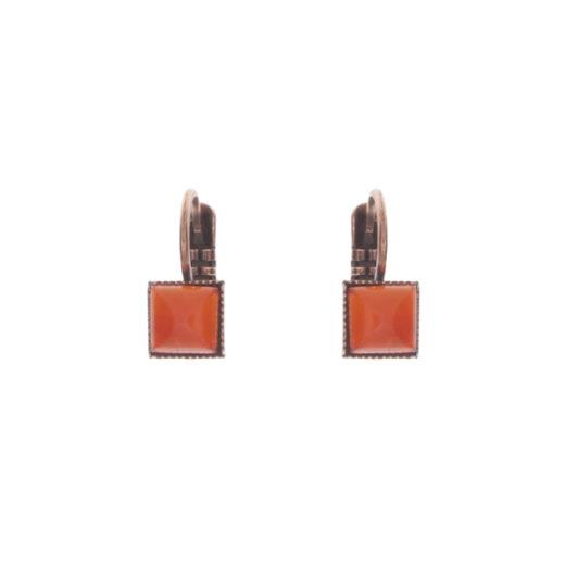 Boucles d'oreilles Tam Tam dans la Ville Cuivré S Multi 9