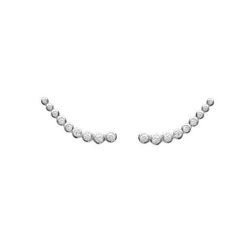 Boucles d'oreilles Montantes Argent 925 Lift 1