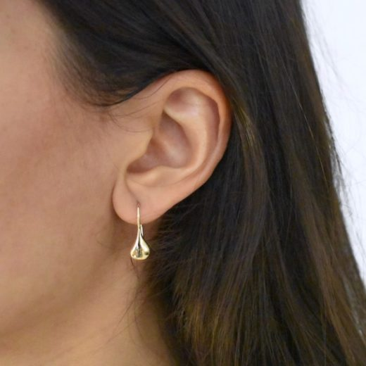 Boucles d'oreilles Plaqué Or Gouttes 1