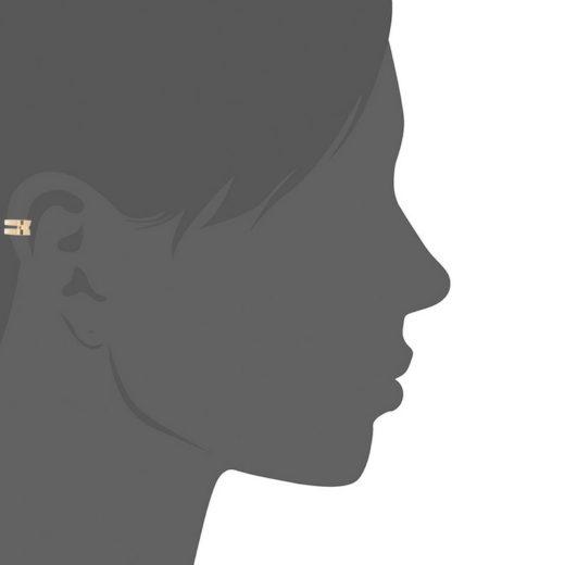 Bague d'oreille Plaqué Or Deux 2