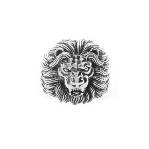 Bague Argent 925 Lion 1