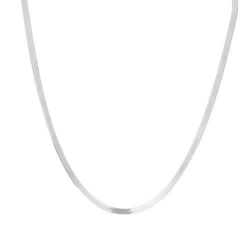 Collier Argent 925 Chaine Mirroir 1