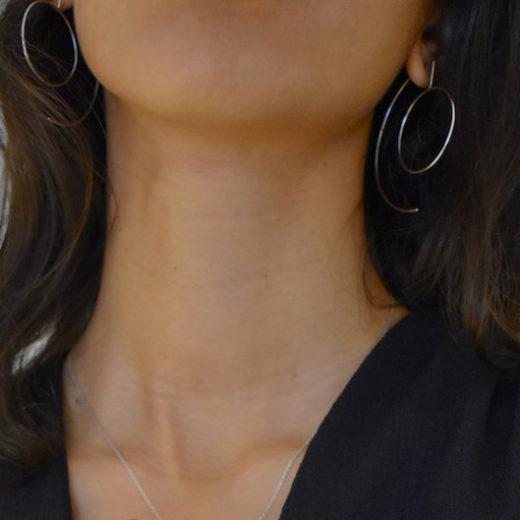 Boucles d'oreilles Argent 925 C&O 2