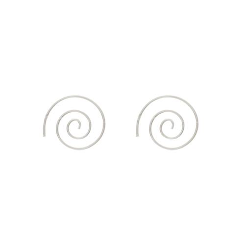 Boucles d'Oreilles Argent 925 Spirale XS 1