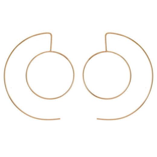 Boucles d'oreilles Plaqué Or C&O 1