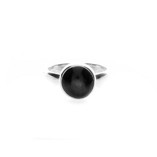 Bague Argent 925 Onyx Black Star 1
