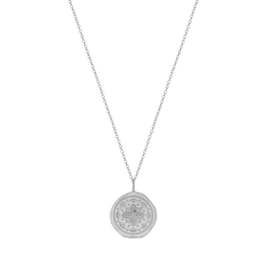 Collier Argent 925 Médaille + 3