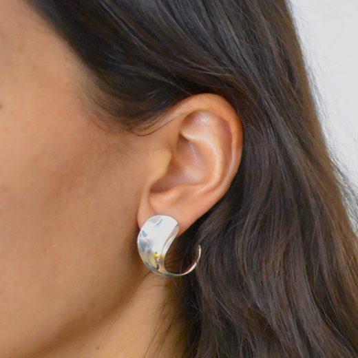 Boucles d'oreilles Argent 925 Spoon 1