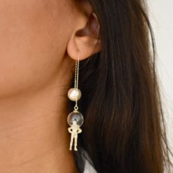 Boucles d'oreilles aHandfulof Gold Astro 3