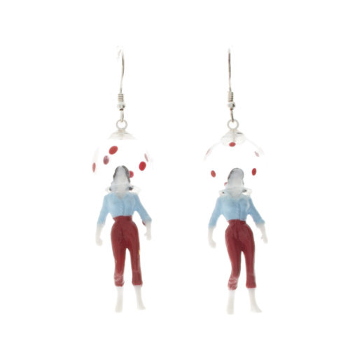 Boucles d'oreilles aHandfulof Bolka Red 1