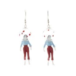 Boucles d'oreilles aHandfulof Bolka Red 3
