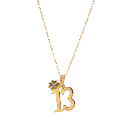 Collier Plaqué Or 13 1