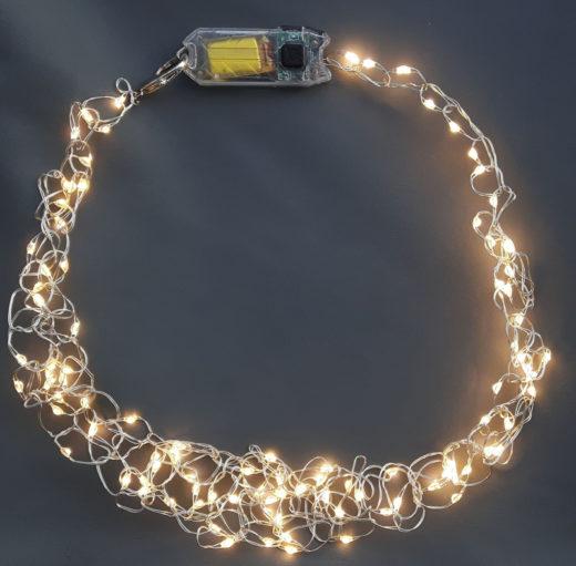 Collier Niki Bodden Lumineux LED 2