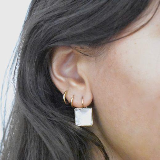Boucles d'oreilles Tam Tam dans la Ville Doré L Multi 10