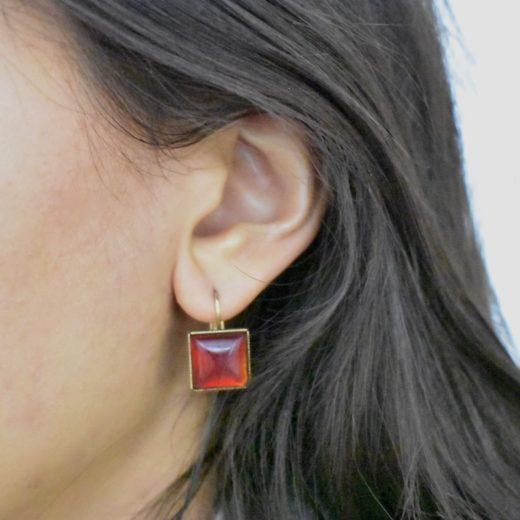 Boucles d'oreilles Tam Tam dans la Ville Doré L Multi 11