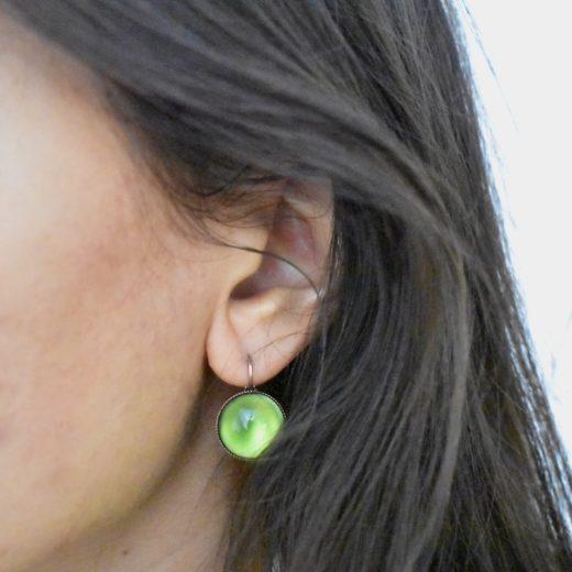 Boucles d'oreilles Tam Tam dans la Ville Cuivré Cercie Multi 2