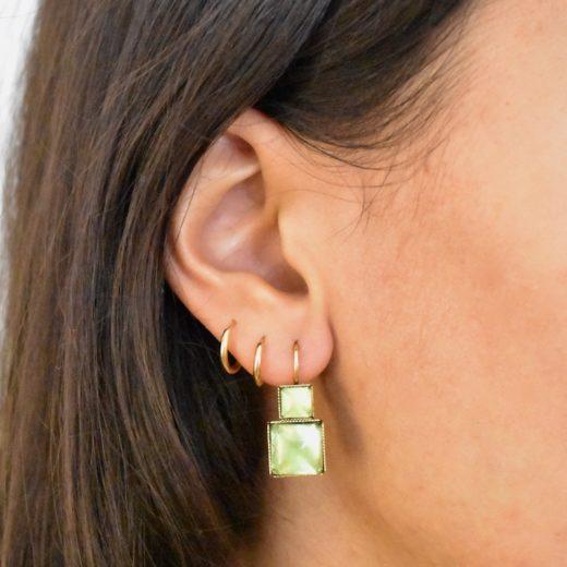 Boucles d'oreilles Tam Tam dans la Ville Doré Deus 6
