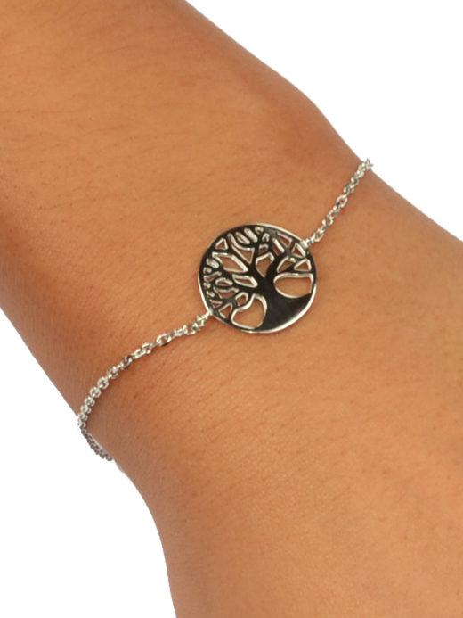 Bracelet Argent 925 Arbre de Vie 1