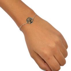 Bracelet Argent 925 Arbre de Vie 5