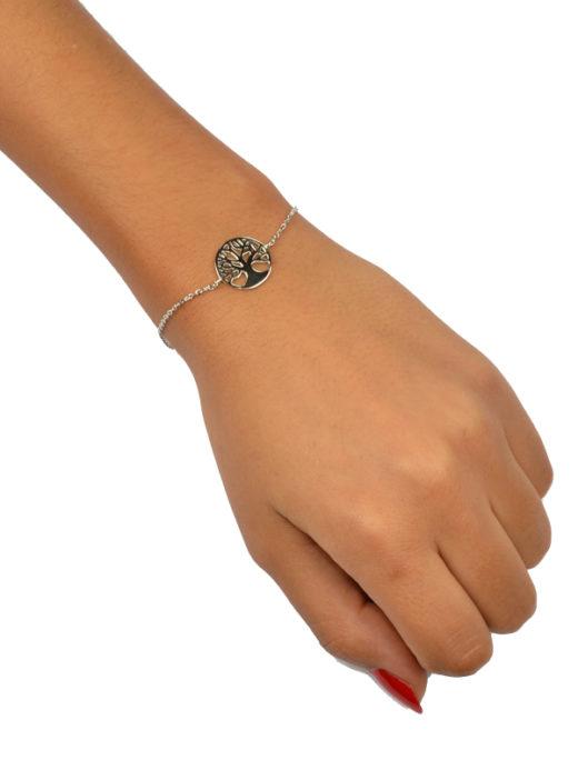 Bracelet Argent 925 Arbre de Vie 2
