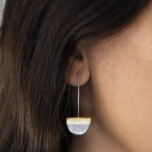 Boucles d'oreilles Culture Mix HalfMoon 1