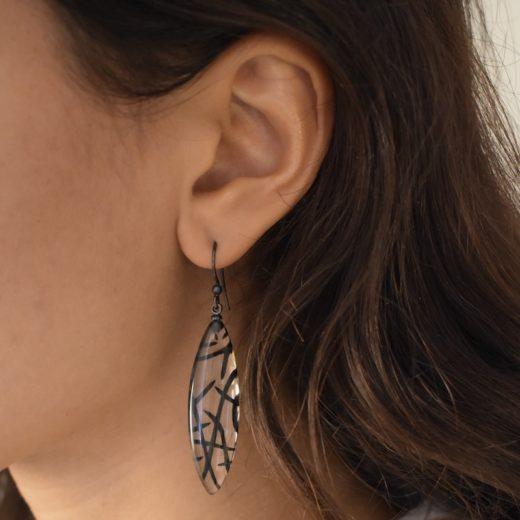 Boucles d'oreilles Culture Mix Stripey Patern 1