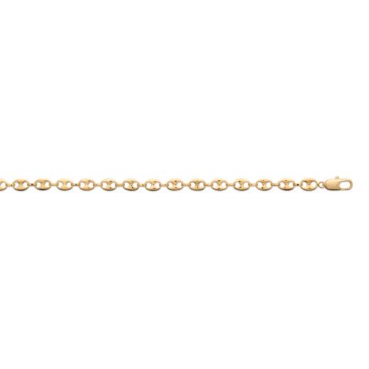 Bracelet Plaqué Or Chaine Graine de Café 3