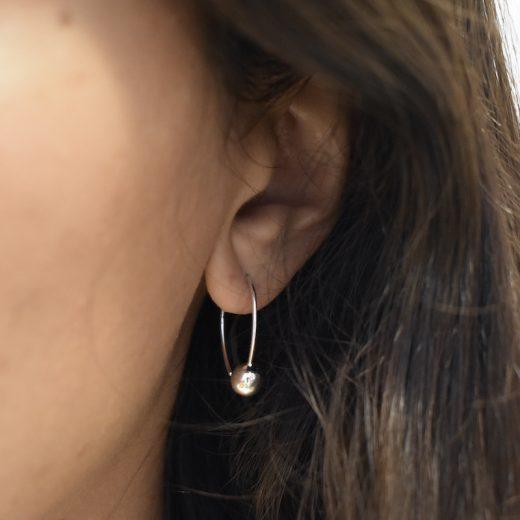 Boucles d'oreilles Argent 925 Camy 2